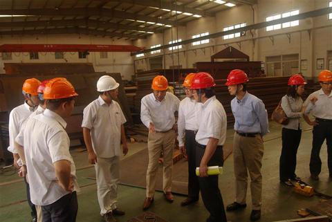 Jfe Group Senior Managers Visit Bmm Bmm Shanghai Co Ltd